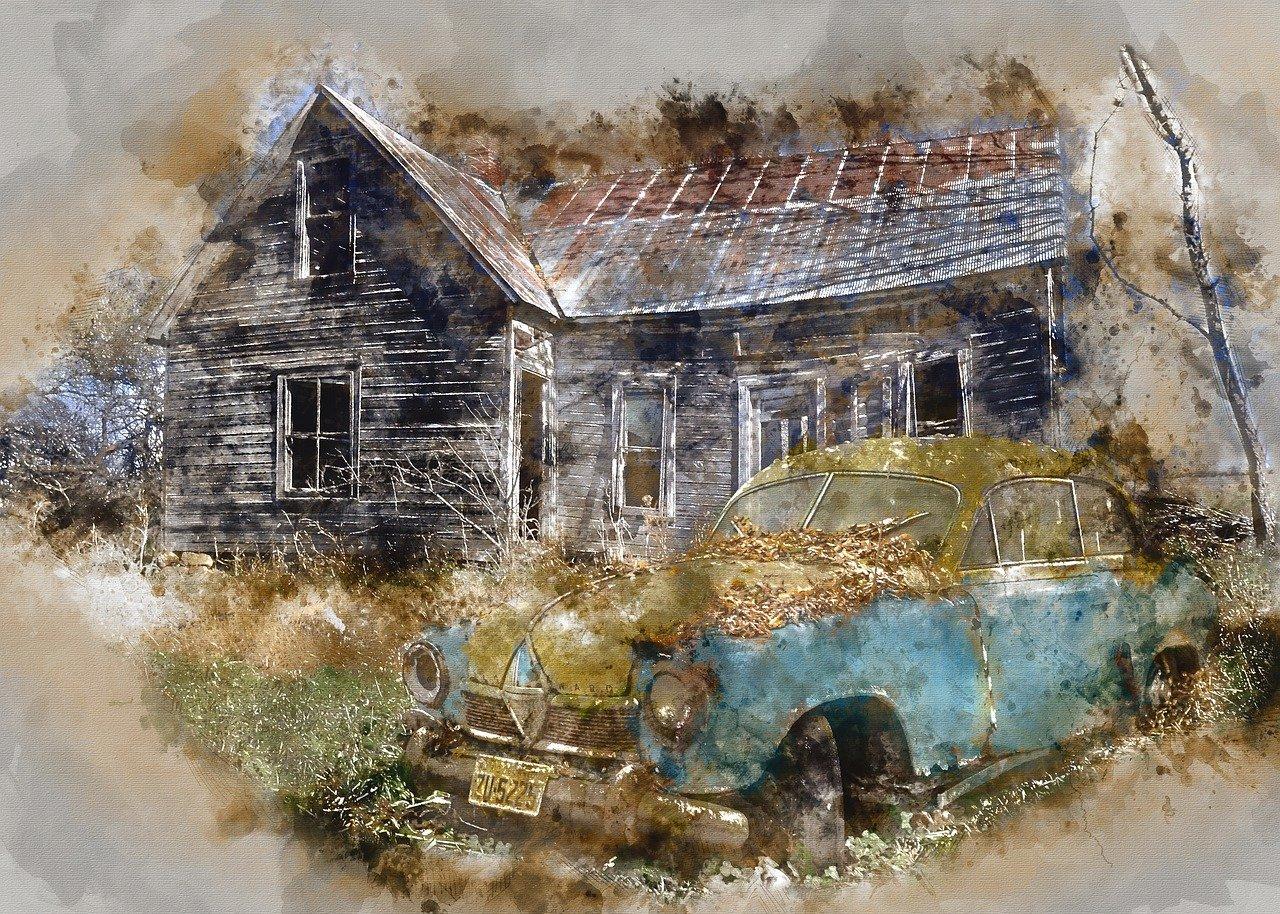 Borgward Hansa Car Ruin Abandoned  - ArtTower / Pixabay